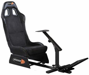 Playseat Evolution, Black Alcantara Racing