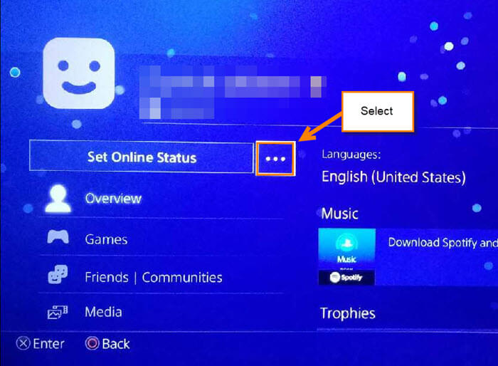 How to Change Profile Picture on PSN