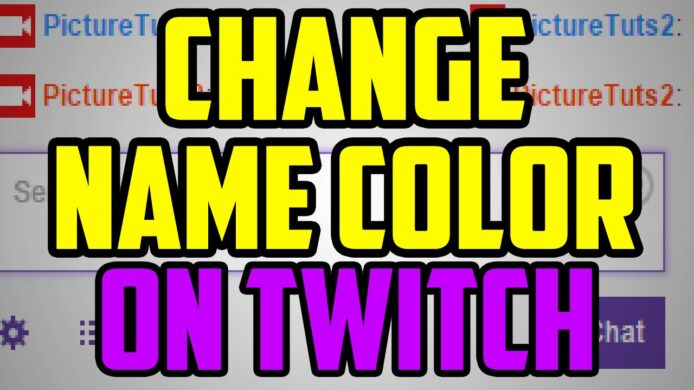 How to Change Name Color on Twitch