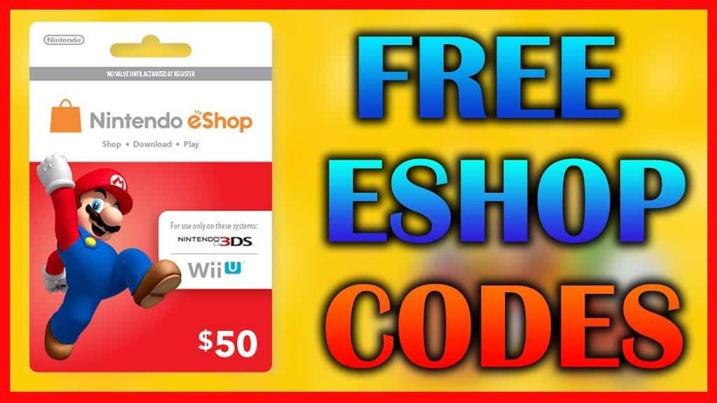 free wii u eshop codes