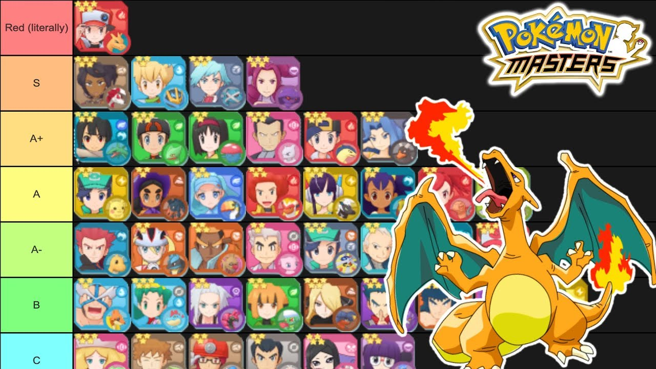 Pokémon Masters tier list