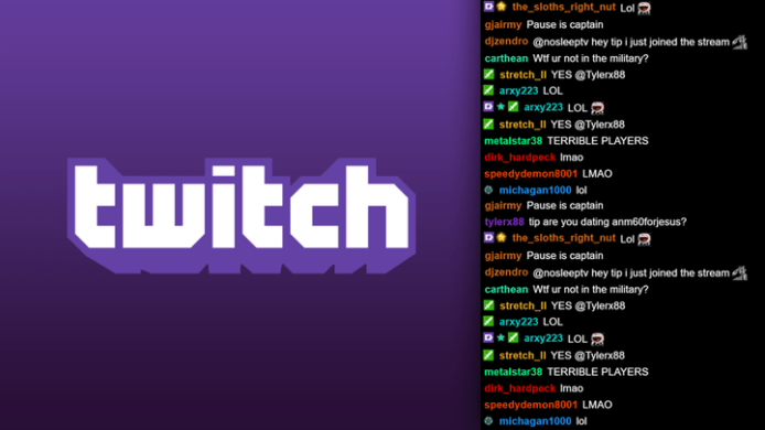 Twitch Chat Streaming with One Monitor