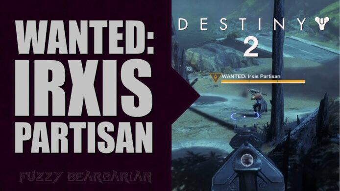 Destiny 2 Irxis Partisan