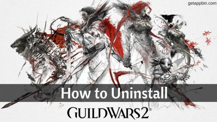 Uninstall Guild Wars 2