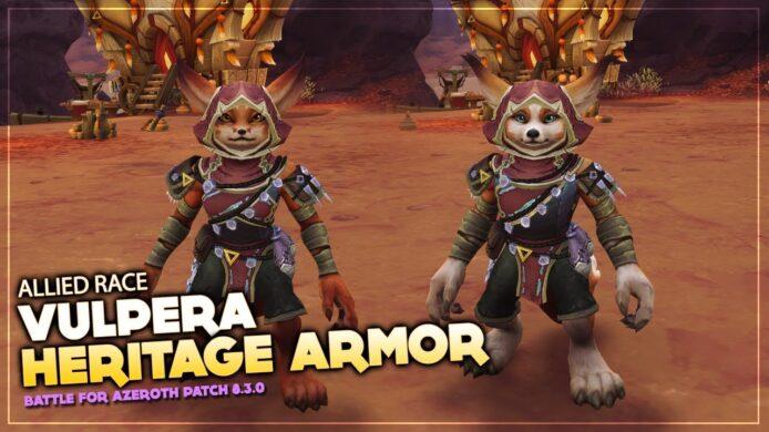 Vulpera Heritage Armor