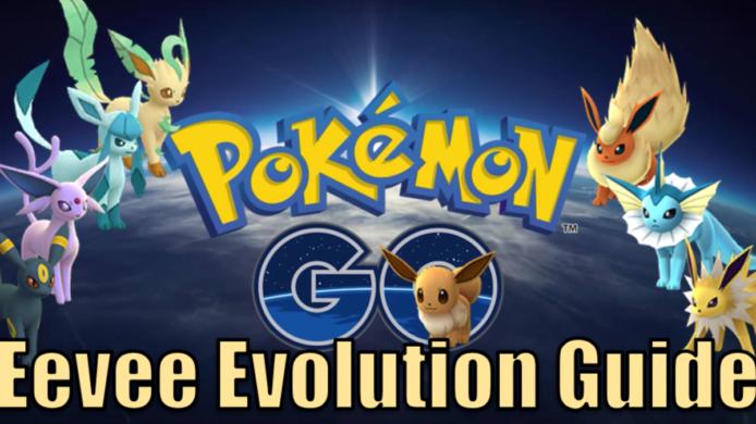Pokémon Go Eevee Evolution Name Guide