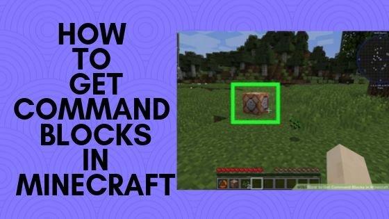 Command Block in Minecraft