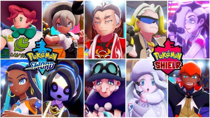 Pokemon Sword and Shield Gym Leaders