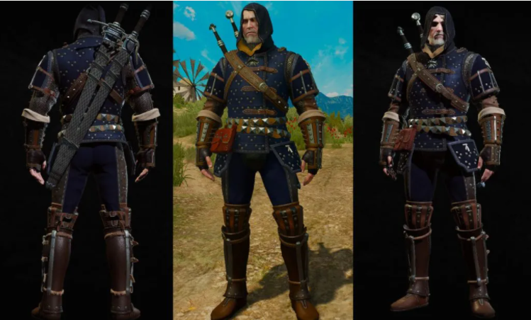 Witcher 3 Armor Sets