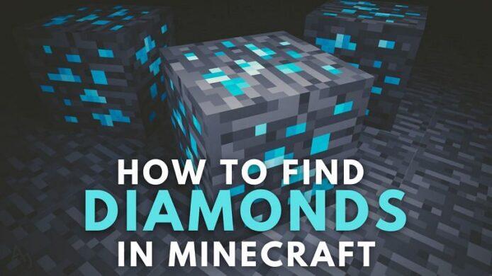 Diamonds in Minecraft