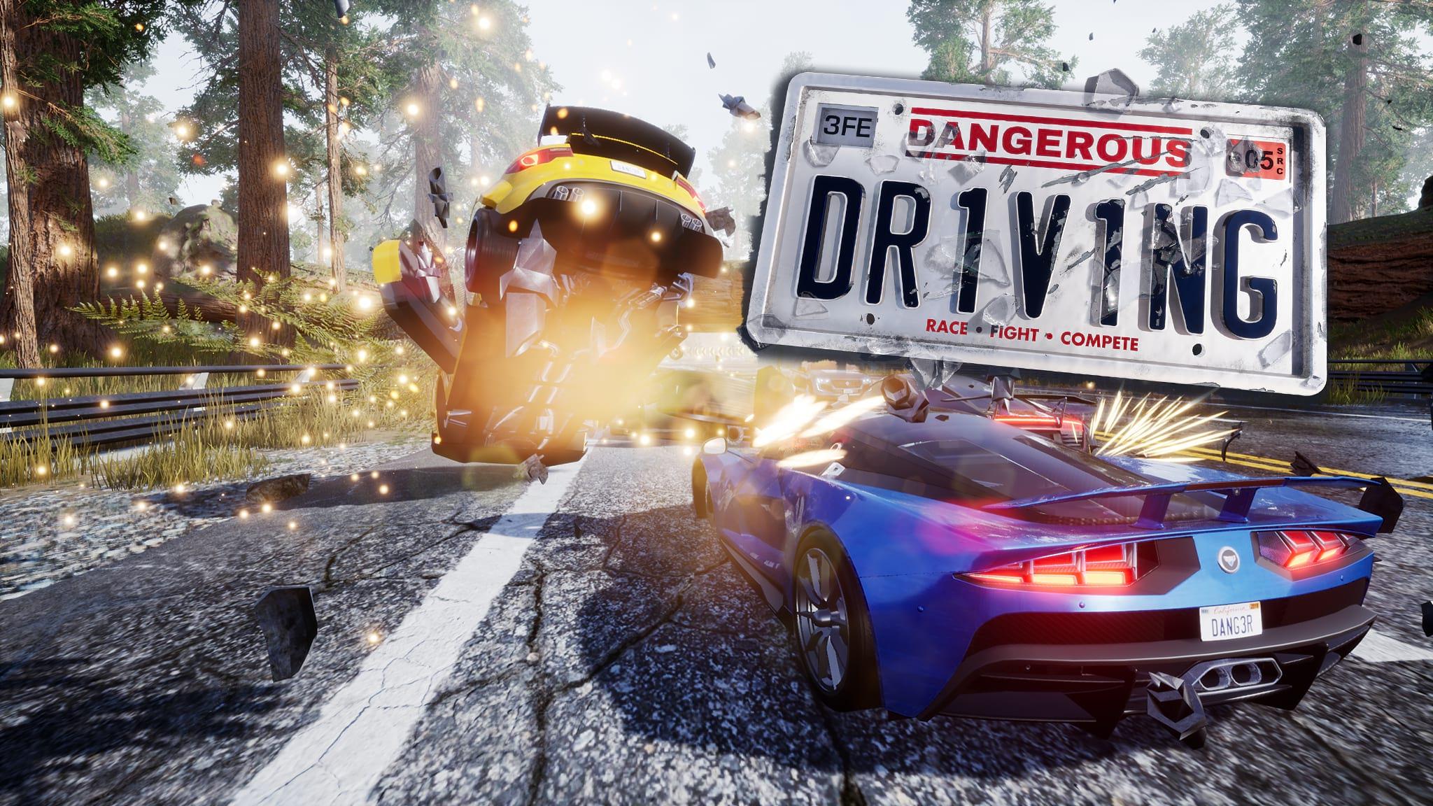 Dangerous Driving PC Game Free Download