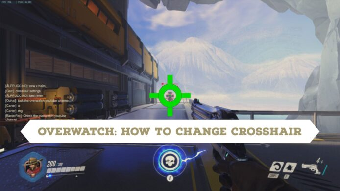 Change Crosshair in Overwatch