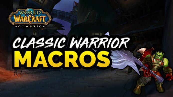 WoW Classic Warrior Macros